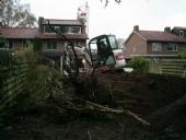 Moeilijk bereikbare tuin - Voorbereidend werk