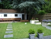 Moeilijk bereikbare tuin - Eindresultaat tuin
